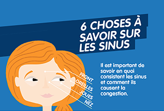 6 choses à savoir sur les sinus