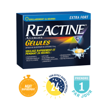 Gélules REACTINE®