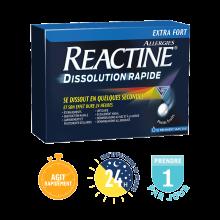 Nouveau Reactine Dissolution Rapide