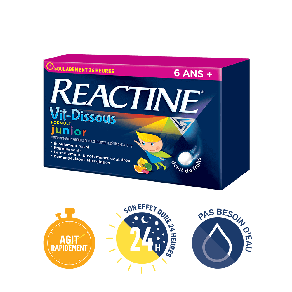 REACTINE VIT-DISSOUS®