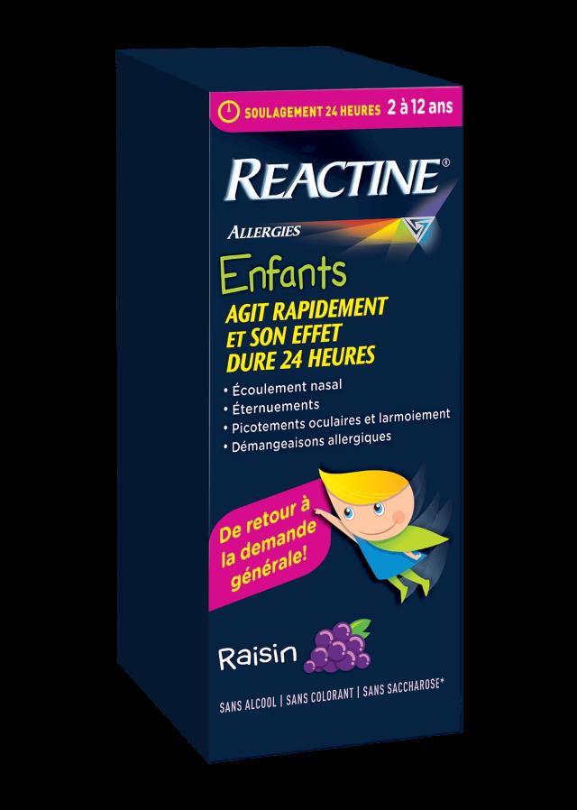 Sirop REACTINE® pour enfants