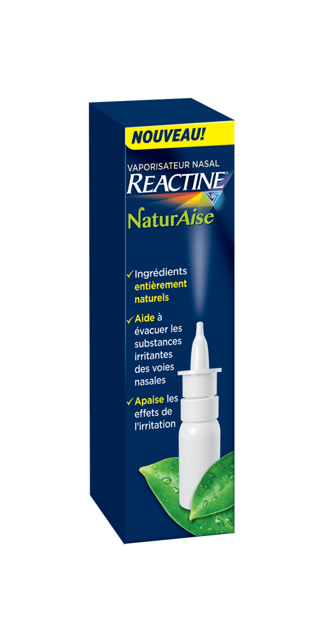 REACTINE® NaturAise