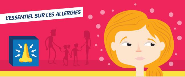L'essentiel sur les allergies